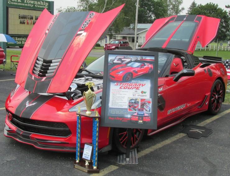 17 chevy corvette 1